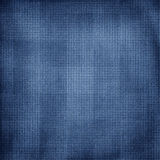 Weathered blue checkered background Royalty Free Stock Images