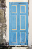 A weathered blue door Royalty Free Stock Photo