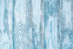 Weathered blue wood texture Stock Photography