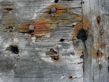 Weathered board. Old weathered board Stock Photos