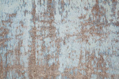 Weathered board with old blue paint Royalty Free Stock Images