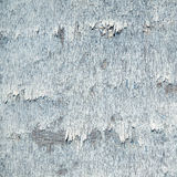 Weathered board with old blue paint Royalty Free Stock Photography