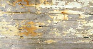 Aged boards peeling paint grunge background Royalty Free Stock Photos