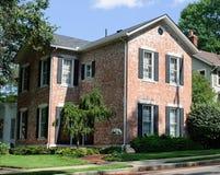 Weathered Brick House Stock Images