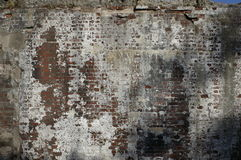 Weathered Brick Wall Royalty Free Stock Images