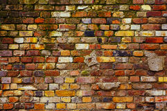 Weathered brick wall background Royalty Free Stock Image