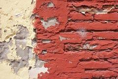 Weathered Brick Wall Background Stock Photography