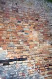 Weathered brick wall background, home related Royalty Free Stock Photo