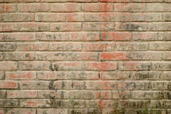 Weathered Brick Wall Stock Images
