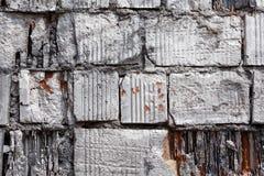 Weathered brick wall Royalty Free Stock Photo