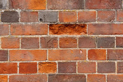 Weathered Brickwork Royalty Free Stock Photo