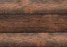 Weathered broad board effect of brashing horizontal lines background wooden. Pattern Royalty Free Stock Photos