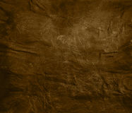 Weathered brown leather background Stock Photos