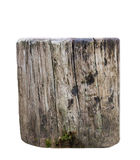 Weathered brown old timber log Royalty Free Stock Image