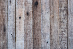 Weathered brown wooden wall for use as background pattern Royalty Free Stock Photography