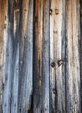 Weathered cabin wall Stock Images