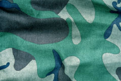 Weathered camouflage uniform pattern. Royalty Free Stock Images