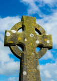 Weathered Celtic Cross Stock Image
