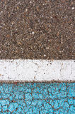 Weathered cement floor detail Royalty Free Stock Photography