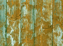 Weathered color wooden fence texture. Abstract background and texture for design Royalty Free Stock Image