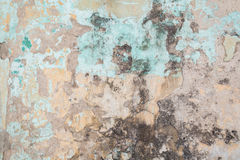 Weathered colorful concrete wall Royalty Free Stock Photo