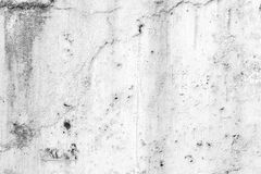 Weathered concrete wall in black&white Royalty Free Stock Photos