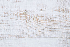 Weathered cracked white painted wood background Royalty Free Stock Photos
