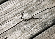 Weathered Cracked Wood Stock Images