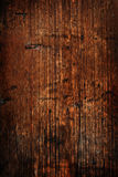 Weathered darken timber wall Royalty Free Stock Images