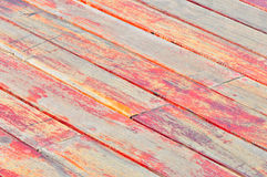 weathered deck boards Stock Images