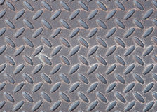 Weathered Diamond-plate Texture Royalty Free Stock Photo