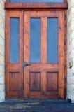 Weathered Door. Old weathered wooden set of antique doors stock photos