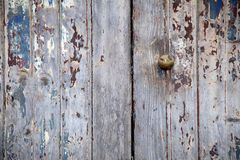 Weathered door Stock Images