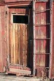 Weathered door Stock Images