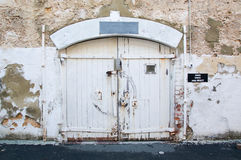 Weathered Doors at Fremantle Prison Royalty Free Stock Images