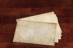 Weathered Envelopes Royalty Free Stock Images