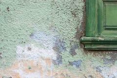 Weathered facade. A Detail of a facade royalty free stock photo
