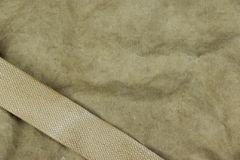 Weathered Faded Military Army  Khaki Camouflage With Belt. Backg Royalty Free Stock Images