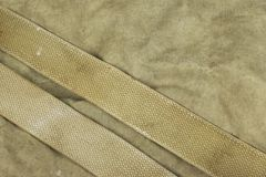 Weathered Faded Military Army  Khaki Camouflage With Belt. Backg Royalty Free Stock Image