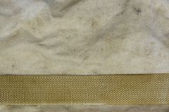Weathered Faded Military Army  Khaki Camouflage With Belt. Backg Stock Photos
