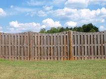 Weathered Fence Stock Photography
