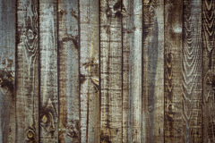 Weathered fence panels as a background image Stock Image