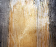 Weathered fiberboard texture. Royalty Free Stock Photos