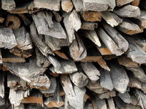 Weathered firewood background Royalty Free Stock Images