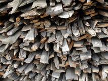 Weathered firewood background Stock Image