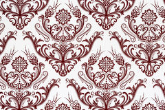 Weathered floral pattern Stock Photo