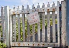 Weathered Gate Royalty Free Stock Image