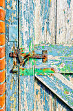 Weathered gate Stock Image