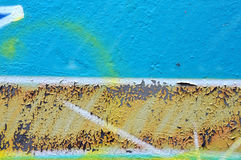 Weathered graffiti texture Royalty Free Stock Photography