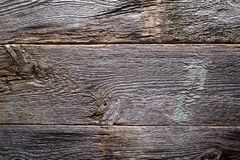 Weathered Gray Barn Board Background royalty free stock photo